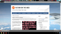 """Fiction on the Web"" screenshot"